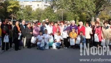 Севастопольские благотворители организовали для пенсионеров и одиноких граждан путешествие по Крыму (ВИДЕО)