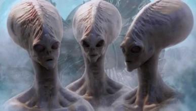 Видео: пользователь YouTube сумел снять на камеру пришельцев
