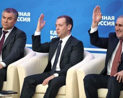 В руководстве «Единой России» началась интенсивная фаза аппаратной борьбы?