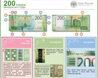 Как отличить «севастопольскую» 200-рублёвку от подделки