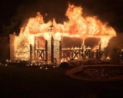 Как в Севастополе разрушили и сожгли дом ветерана Великой Отечественной войны