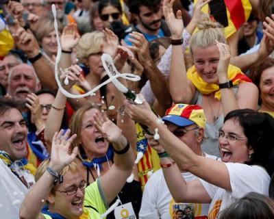 Каталонский парламент проголосовал за независимость от Испании