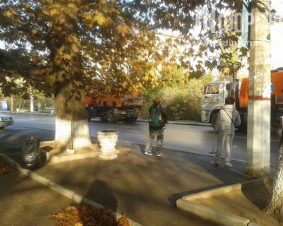 В Севастополе начался рьяный ремонт дорожного полотна