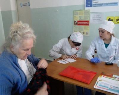 В больнице Севастополя прошла жизненно важная акция