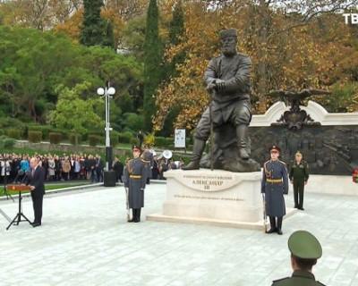 Глава Крыма Сергей Аксёнов прокомментировал открытие памятника Александру III