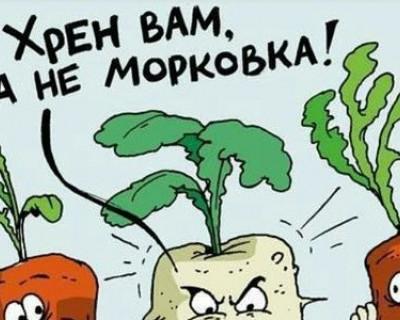 В Севастополе только хрен домашний - другого производства нет?