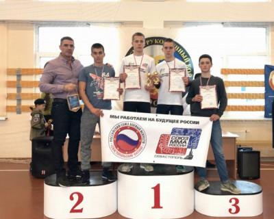 Севастопольская Федерация ММА успешно выступила на турнире ко Дню морской пехоты