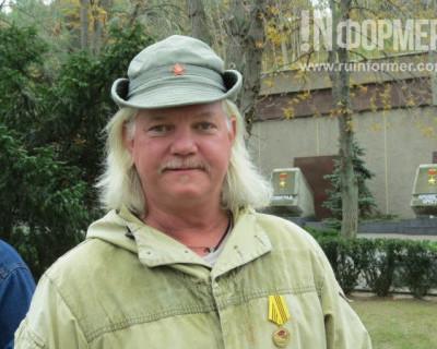 Видео: в Севастополь прибыл американский доброволец из ДНР Рассел Бентли