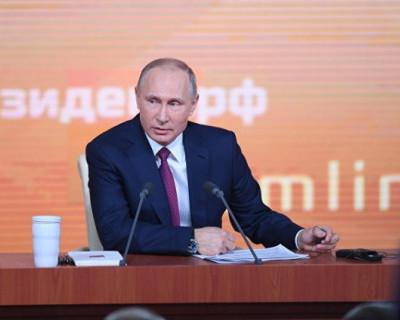 Большая пресс-конференция Владимира Путина. Всё, что происходило на главном событии года