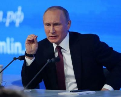 «ИНФОРМЕР» собрал самые интересные высказывания Владимира Путина с прошлогодней пресс-конференции
