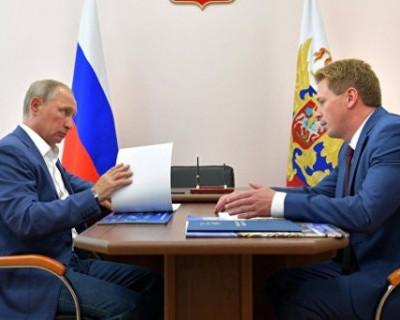 Президент России и губернатор Севастополя обратились к журналистам