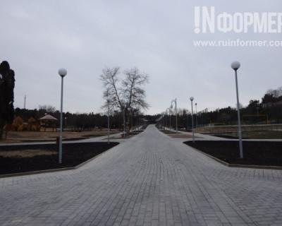 Севастопольский парк в новой «одёжке»
