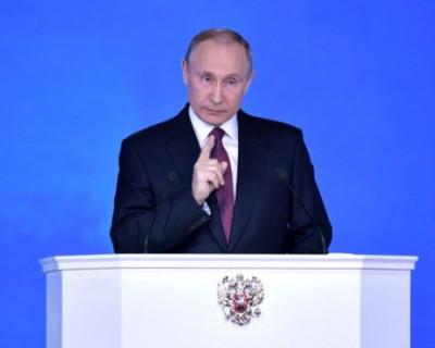 Путин «запустил» ракету «Сармат»!