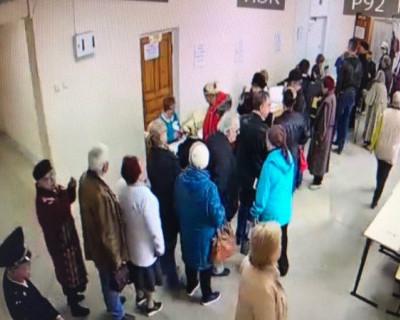 Попили кофе и пошли голосовать!