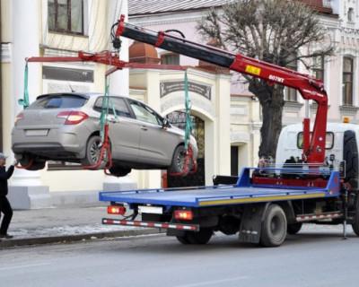 В Севастополе активно эвакуируют авто и эффективно наказывают нарушителей!