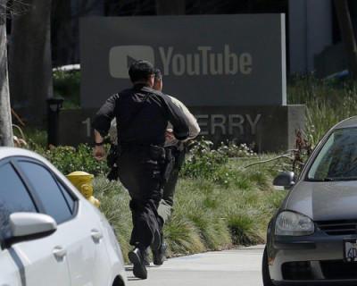 На офис YouTube напала вооружённая женщина
