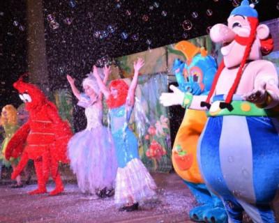 Интерактивная театральная постановка «Астерикс и Обеликс - покорители стихий»