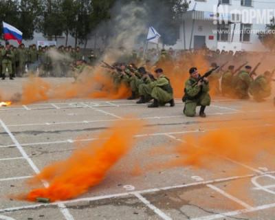 Как в Севастополе День морской пехоты отмечают