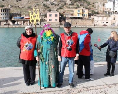 Фестиваль зимнего плавания «Золотая Балаклава-2016» в Севастополе