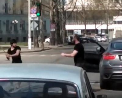Жесть на дорогах Симферополя (ВИДЕО)