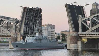 В России в конце апреля будет спущен на воду новейший корабль