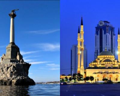 Цены на продукты в Севастополе и Грозном (ФОТО)