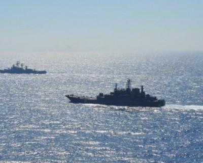 Черноморский флот показал авианосной группе США у побережья Сирии всю мощь