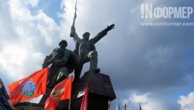 Торжествнный митинг в Севастополе на 3 годовщину воссоединения с Россией