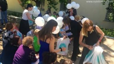 Общественники поздравили севастопольских детей из приюта