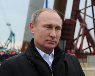 Владимир Путин откроет Крымский мост