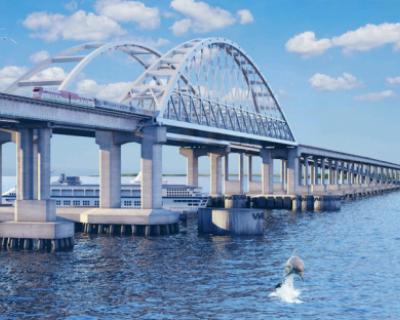 Украина сказала «Спасибо!» за Крымский мост