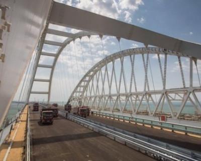 Схема движения по дорогам Крыма после открытия моста