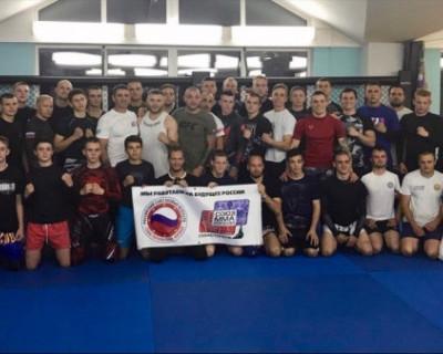 Севастопольскую Федерацию ММА посетил мастер тайского бокса