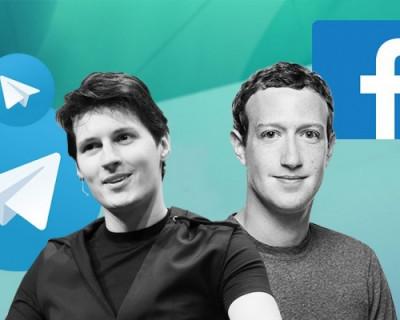 Facebook дышит в спину Дурову