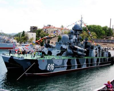 Мощь Черноморского флота России!