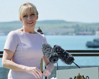 Захарова в Крыму: самое интересное