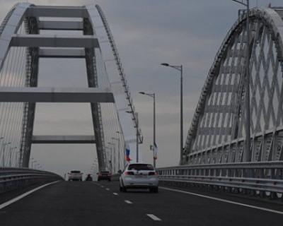 Крымский мост стал зоной массового нарушения ПДД