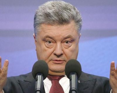 Украинцы «отреклись» от Порошенко
