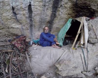 Жизнь отшельников в Крыму (ВИДЕО)