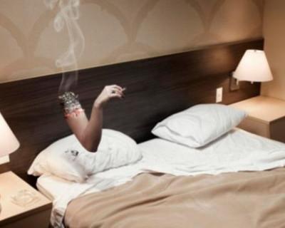 «Не курите в постели!»