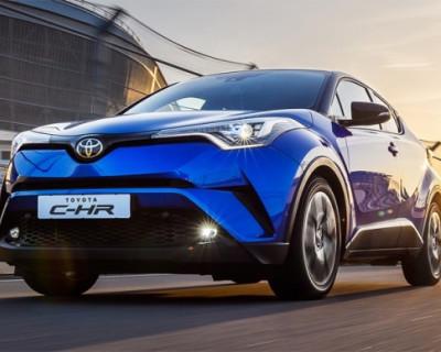 В России начали продавать кроссовер будущего Toyota C-HR (ФОТО, ВИДЕО)