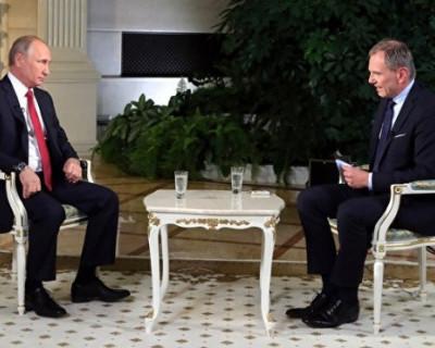 Крым, Донбасс, Евросоюз: главные тезисы из самого жёсткого интервью Путина