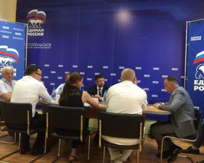 Комиссия из Москвы партии «Единая Россия» отметила безупречную работу севастопольской компании «ИнтерСтрой»