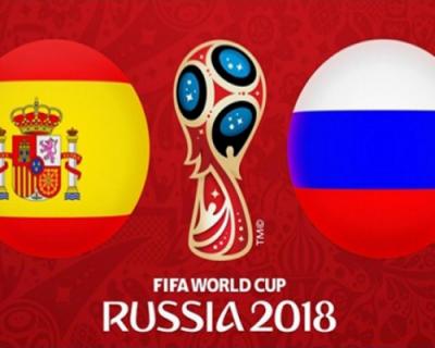 Россия-Испания. Поддержи страну