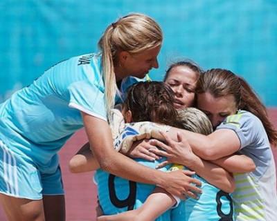 Женская сборная России по футболу триумфально показала себя на Кубке Европы