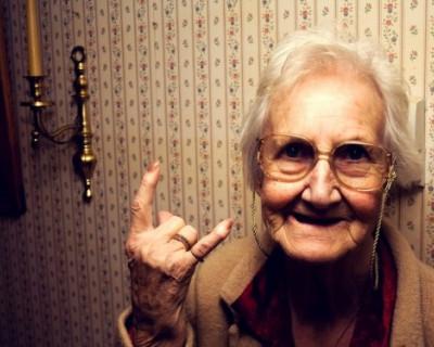 Бабушки рулят!