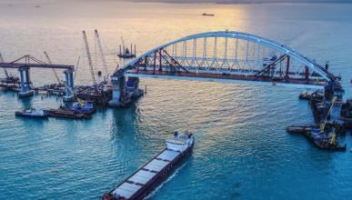 Украинцы озвучили сумму убытков от Крымского моста