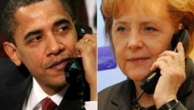 Обама и Меркель сошлись во мнении, что российско-украинская граница должна быть полностью закрыта
