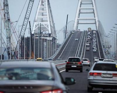 Крымский мост просит автомобилистов потерпеть