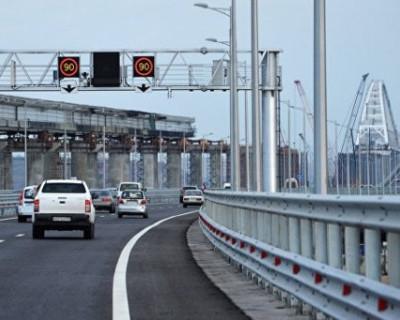 Какие проблемы испытывают автомобилисты в Крыму, проезжая Крымский мост